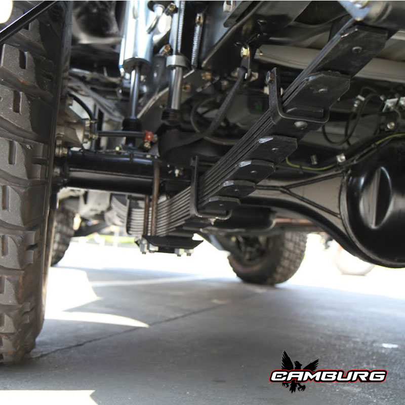 Camburg Leaf Spring Axle Perches