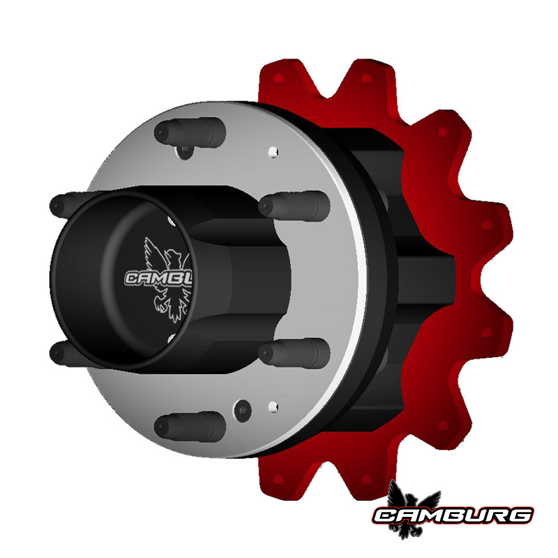 Camburg 3.25 TT Rear Hub Kit [6 on 6.5 x 40 spline]