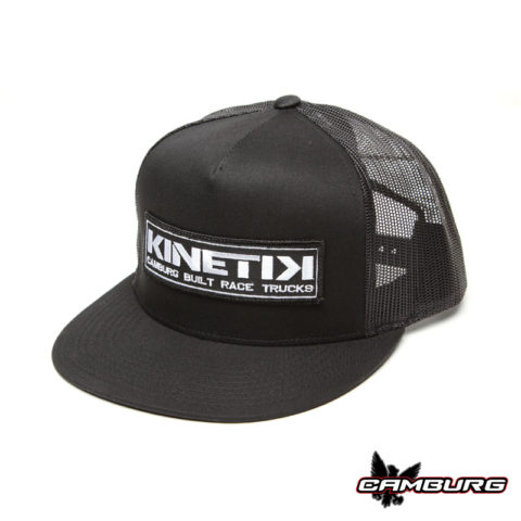 "CAMBURG ""KINETIK"" Trucker Mesh Hat (black)"