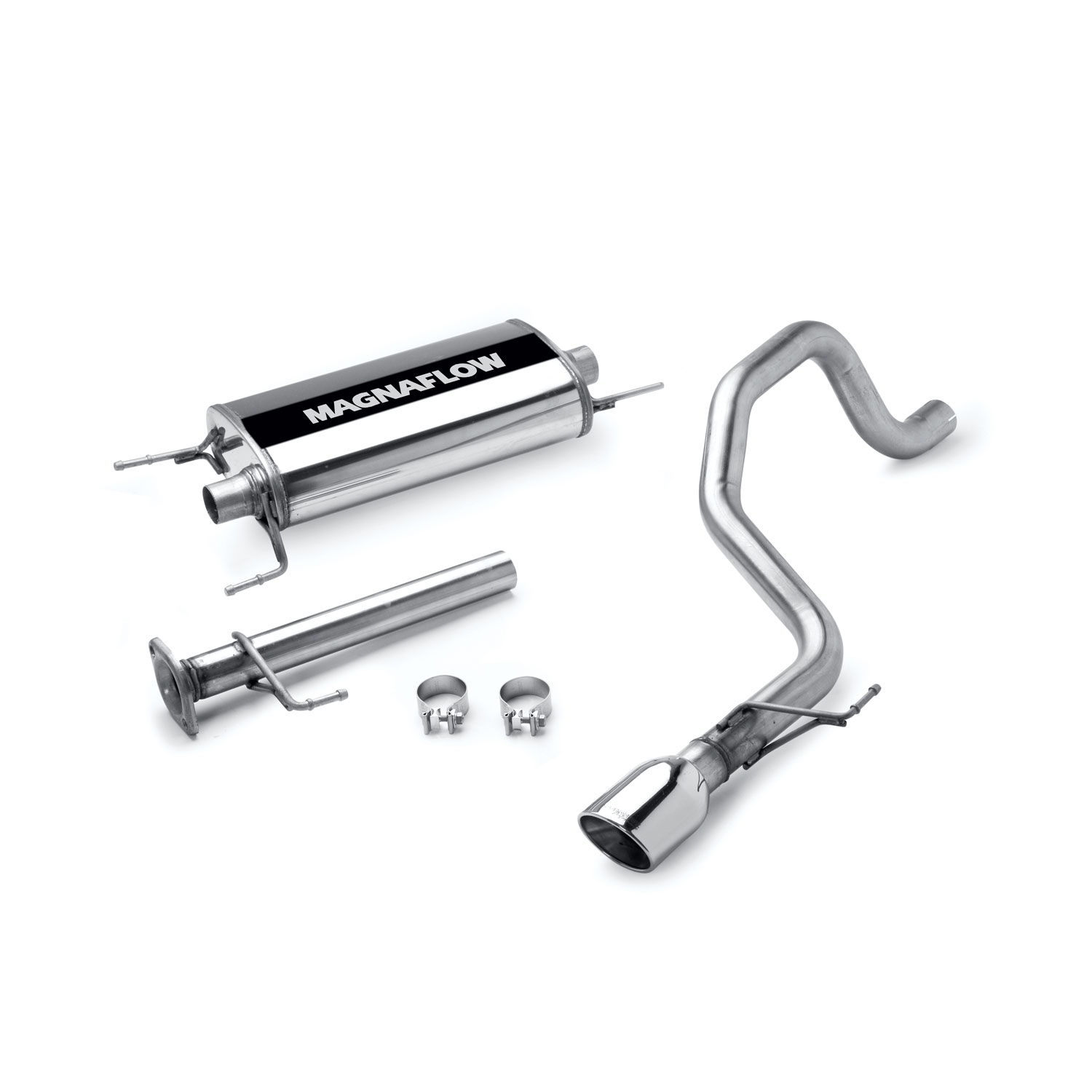 Magnaflow Stainless Cat-Back System 07-14 FJ Cruiser