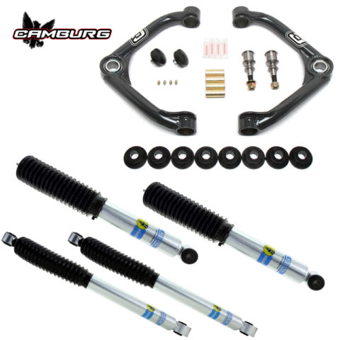 Camburg Chevy 2500/3500 HD 2wd/4wd 01-10 Performance Leveling Kit