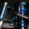 KING Toyota Tacoma Pre/4wd 05-15 2.5 Remote Front Coilovers