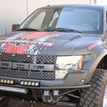 Glassworks Ford Raptor 10-14 Front Fiberglass Fenders