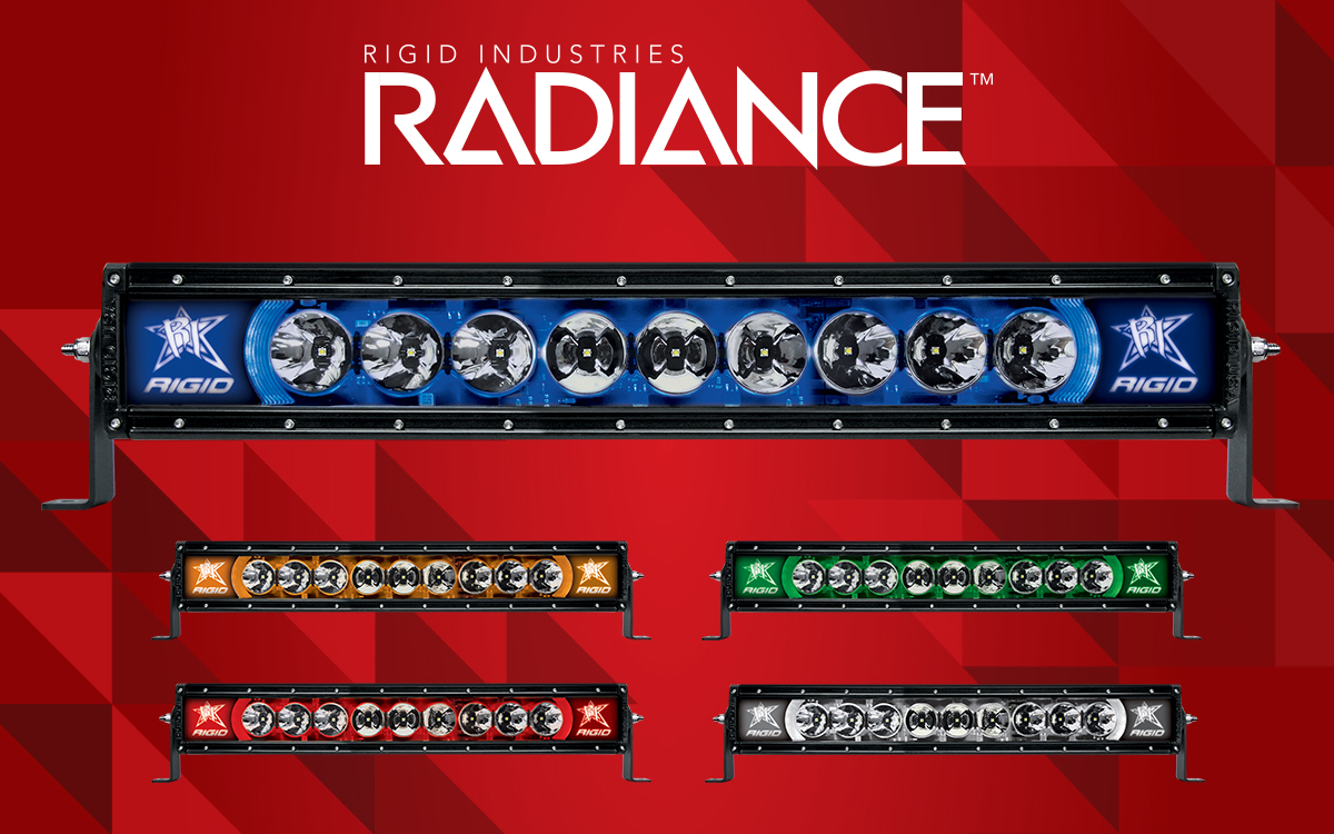 Rigid radiance series led light bars 10 50in camburg engineering prev aloadofball Image collections