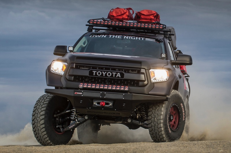 tundra bar light rigid adapt industries truck toyota led trd camburg lighting trail pro edition fenders front beam trucks offroad